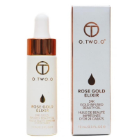 Масло для лица O.TWO.O Rose Gold Elixir 24k Gold Infused Beauty Oil 15мл
