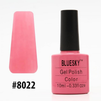 Гель-лак Bluesky Shellac Color 10ml #8022